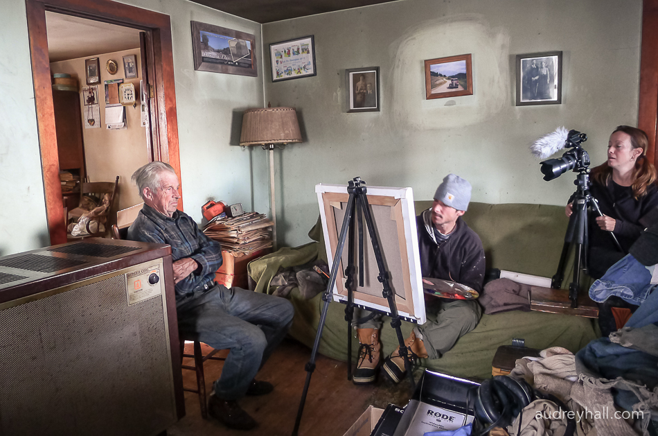 Painting John was filmed over 9 days, about the duration of time that Hugh needs with a subject to make his portrait.