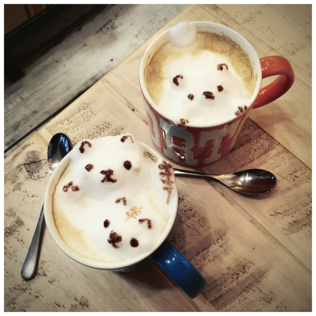 Hello Kitty Latte Art
